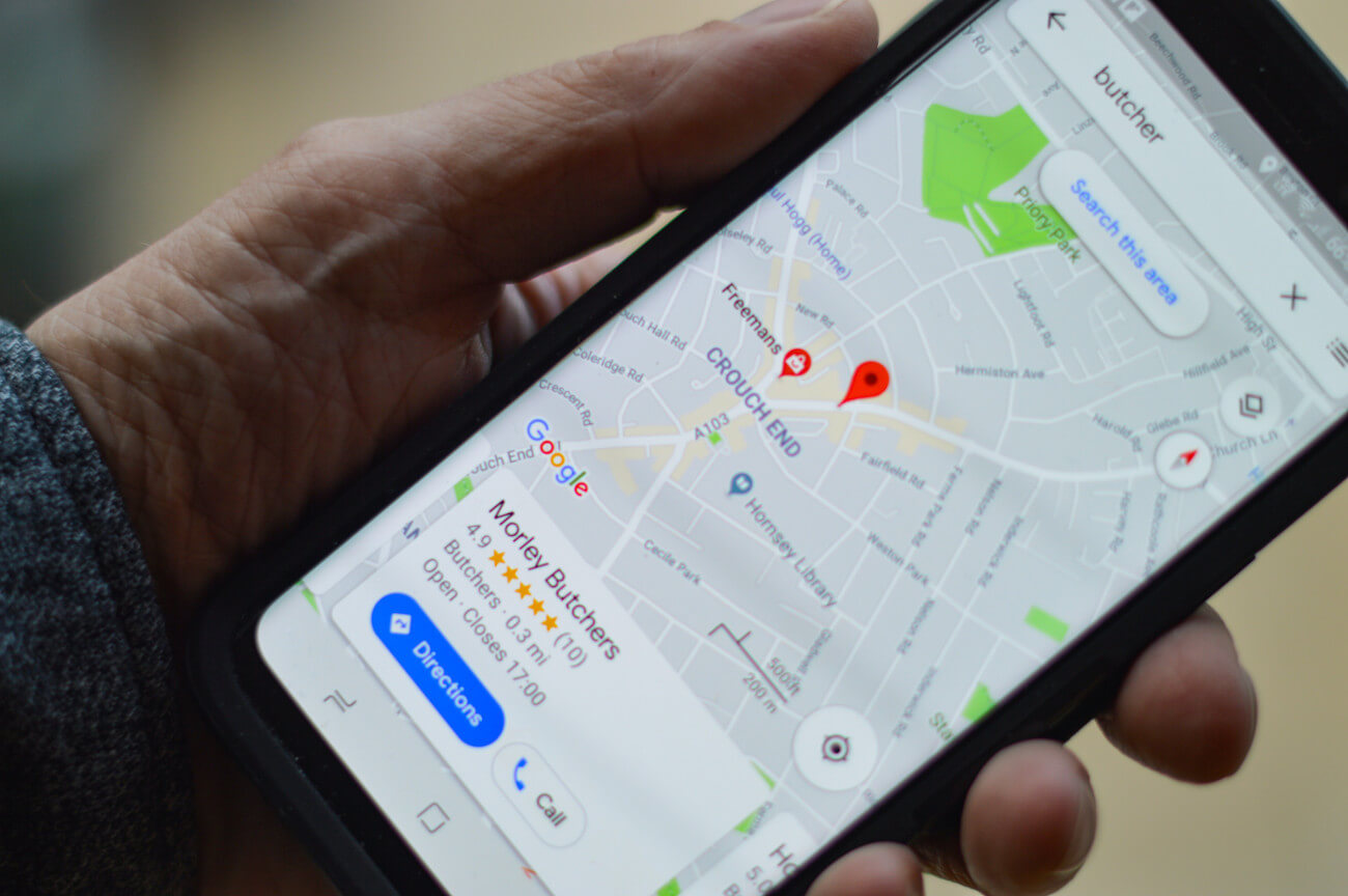 mobile phone local searches